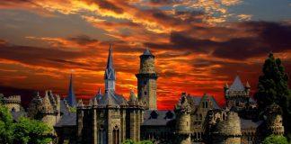 tour Đức Lâu đài Kassel nằm phía Bắc, nước Đức